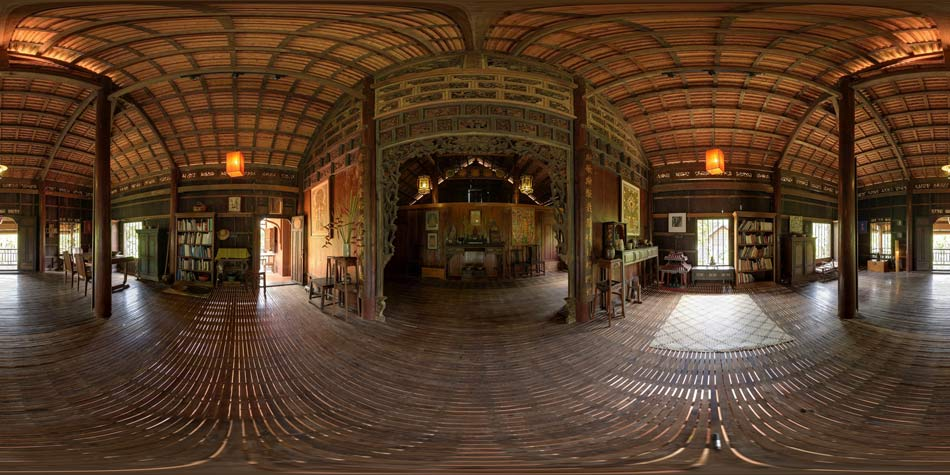 Heritage - Restored Wood Merchants house, Siem Reap.