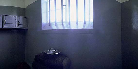 Cell Number 5. Maximum Security Prison, Robben Island