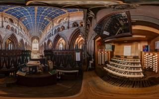 Carlisle Cathedral - Organ Stall